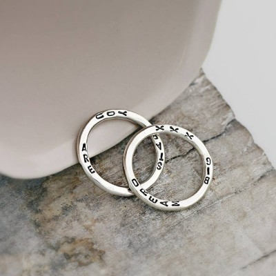 Personalised Word Ring - AMAZINGNECKLACE.COM