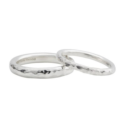 Sterling Silver Halo Wedding Band - AMAZINGNECKLACE.COM