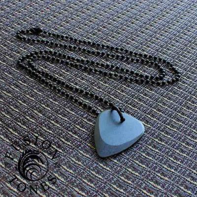 Fusion Tones Personalised Necklace Black - AMAZINGNECKLACE.COM