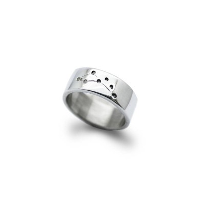 Personalised Constellation Ring, Myths From The Gods - AMAZINGNECKLACE.COM