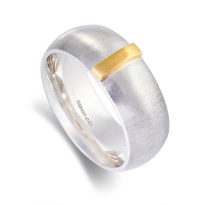 Linear Personalised Ring - AMAZINGNECKLACE.COM