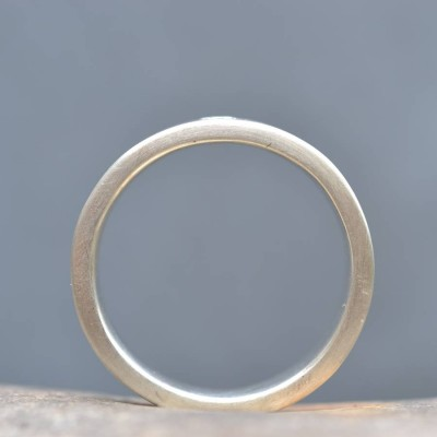 18ct Gold Handmade Mens Engagement Personalised Ring - AMAZINGNECKLACE.COM