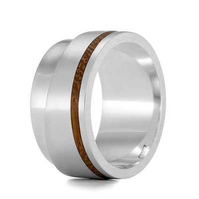 Wood Personalised Ring Layer - AMAZINGNECKLACE.COM
