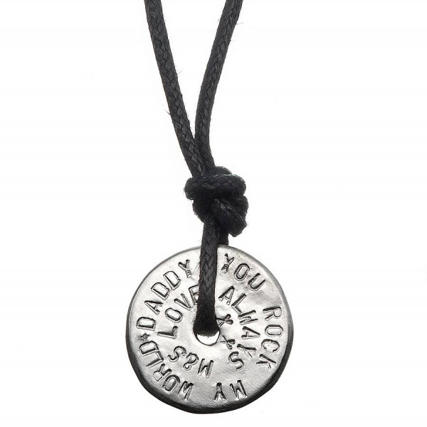 Mens Personalised Love Bead Necklace - AMAZINGNECKLACE.COM