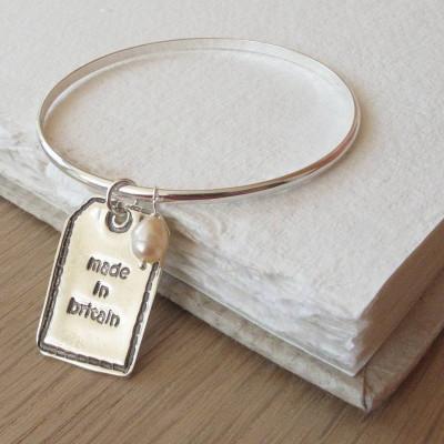 Personalised Silver Designer Label - AMAZINGNECKLACE.COM