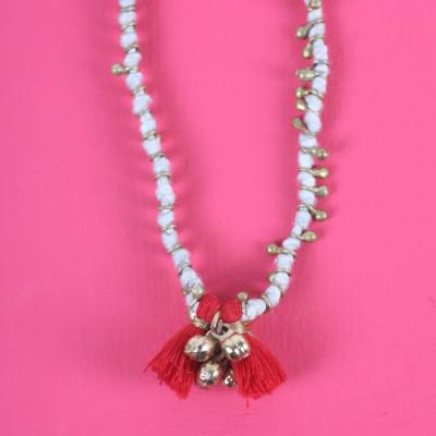 Maya Bead Personalised Necklace - AMAZINGNECKLACE.COM