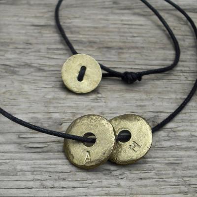 Personalised Eternal Hoop Necklace - AMAZINGNECKLACE.COM