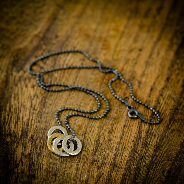 Mens Family Eternity Personalised Necklace - AMAZINGNECKLACE.COM