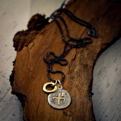 Mens Pieces Of Eight Pirate Personalised Necklace - AMAZINGNECKLACE.COM