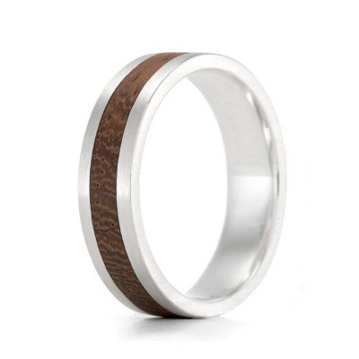 Wood Personalised Ring Native Komfort - AMAZINGNECKLACE.COM