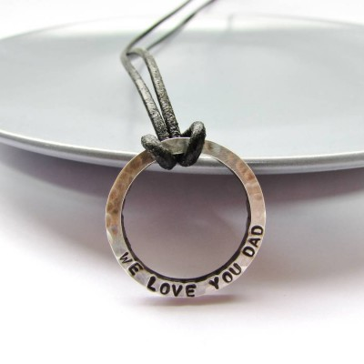 Personalised Daddy Necklace - AMAZINGNECKLACE.COM