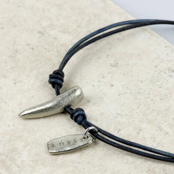 Personalised Tusk Necklace - AMAZINGNECKLACE.COM