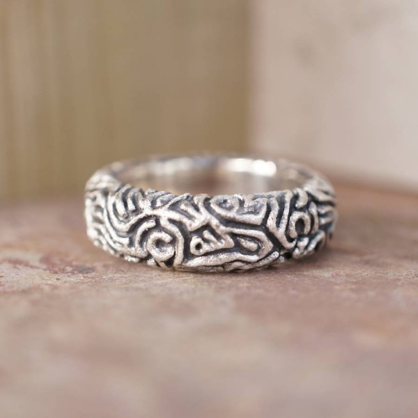 Reef Personalised Ring - AMAZINGNECKLACE.COM