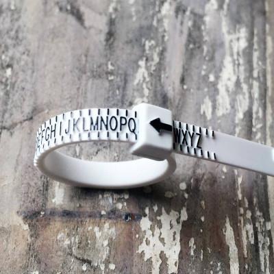 Personalised Ring Sizer - AMAZINGNECKLACE.COM