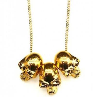 Skull Personalised Necklace - AMAZINGNECKLACE.COM