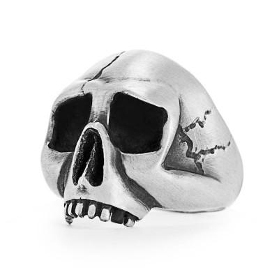 Skull Personalised Ring - AMAZINGNECKLACE.COM