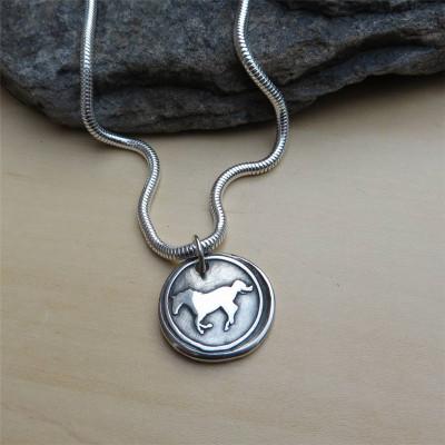 Spirit Of The Horse Pendant - AMAZINGNECKLACE.COM