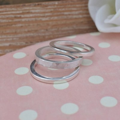 Stacking Personalised Ring - AMAZINGNECKLACE.COM