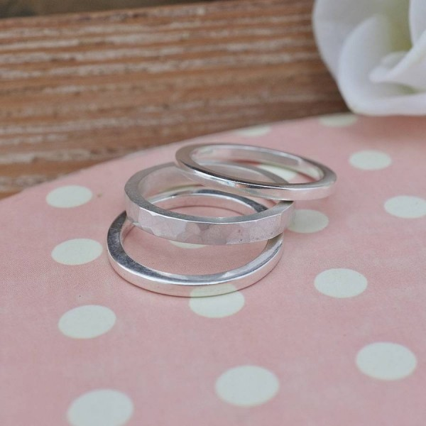 Stacking Personalised Ring - AMAZINGNECKLACE.COM