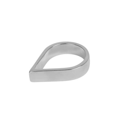 Sterling Silver Wide Point Personalised Ring - AMAZINGNECKLACE.COM