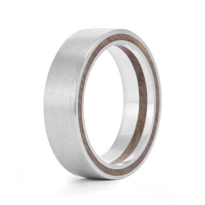 Wood Personalised Ring Bilah - AMAZINGNECKLACE.COM